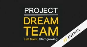 Project dream team web logo