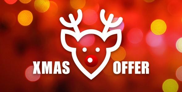 Christmas offer banner